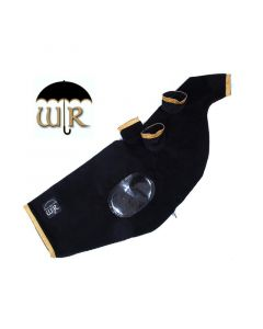 Weather Resistant Black Cord Piper Cover