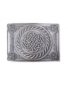 Belt Buckle with Celtic Knot